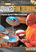 Jim Payne - Advanced Funk Drumming, A Progressive Approach to Modern Drumset Grooves