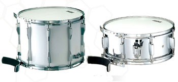 Peace marching drums